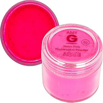 The Edge Nails Amy G - Fluorescent Nail Powders - 5g Neon Pink (3003009)