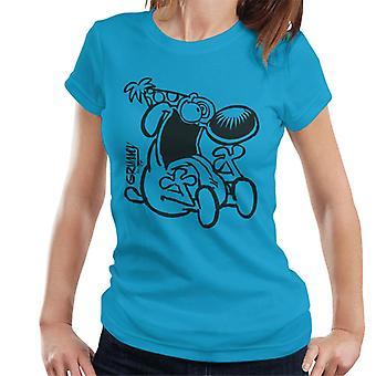 Grimmy Crazy Birthday Boy-T-shirt til kvinder