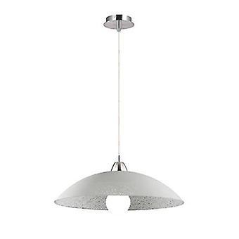 1 Léger Petit Dome Plafond Pendant Chrome