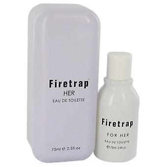 Firetrap eau de toilette spray av firetrap 541635 75 ml
