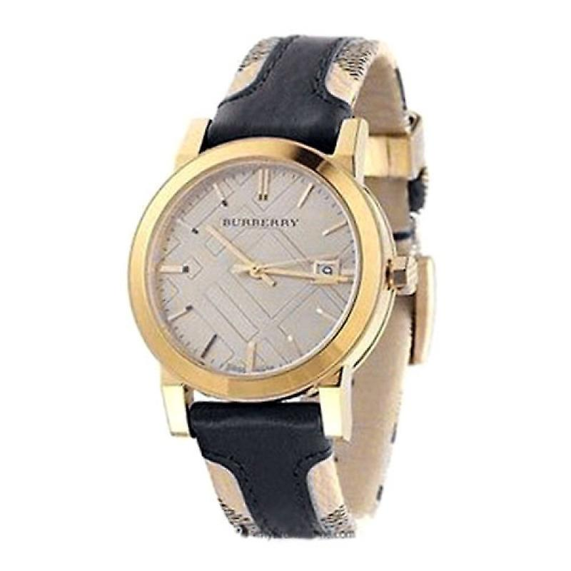 Burberry Bu9032 The City Gold-tone Leather Men's Watch