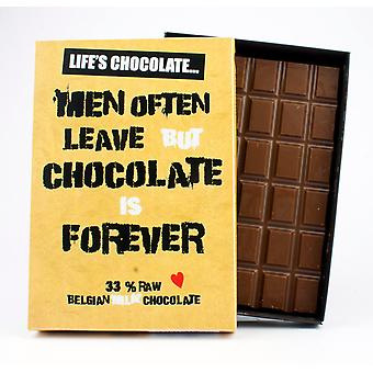 Funny Boxed Chocolate Quote Gift For Women Best Friend Greeting Card for Her LC111
