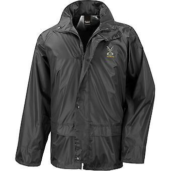 Highland Band Of The Scottish Veteran - Licensed British Army Embroidered Waterproof Rain Jacket