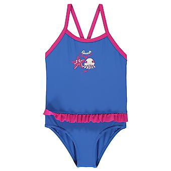 Speedo jenter frill badedrakt Infant Kids