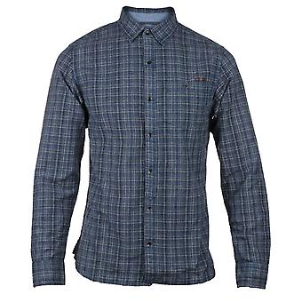 CAT Lifestyle Mens Radford Lange Mouw Shirt Plaid
