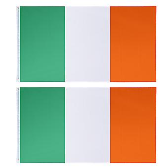 IRISH FLAG X 2