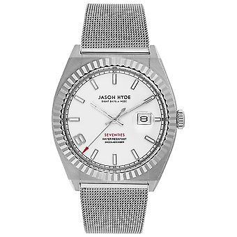 Jason hyde i have a date watch for Women Analog Quartz with JH30003 Stainless Steel Bracelet