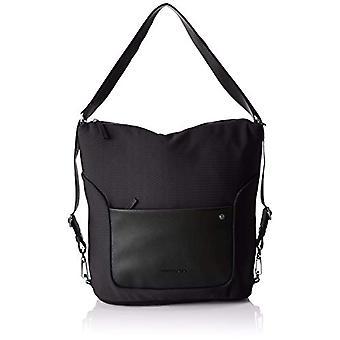 Mandarin Duck Camden Black/Black Strap Bag 10x21x28.5 cm (B x H x T)
