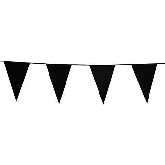Flaggirlang - France Vimpelgirlang - France Pennant 10 mètres Noir