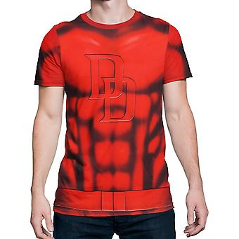 Daredevil Sublimierte Kostüm Fitness T-Shirt