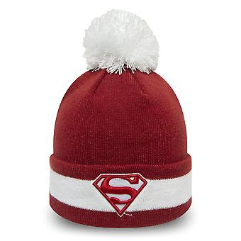 New Era Bommel Beanie KINDER Wintermütze - Superman