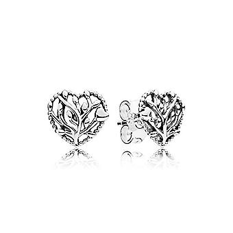 Pandora Silver Women's Stud Earrings - 297085