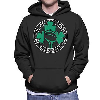 Rugby World Cup Japan 2019 Ireland Japanese Script Men's Hooded Sweatshirt