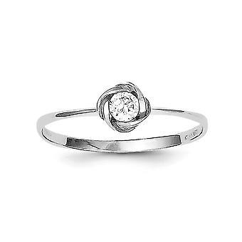 925 שטרלינג בציפוי מצופה ברודיום מעוקב-טבעת יהלומים מדומה בצבע זירקונים