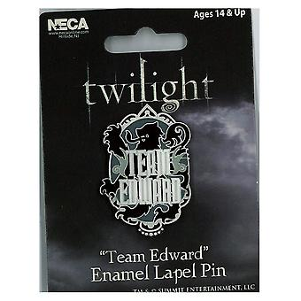 Twilight Lapel Pin Enamel Style B (Team Edward)