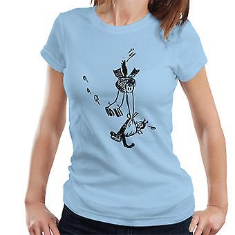 Krazy Kat Carried By Joe Stork Women's T-Shirt
