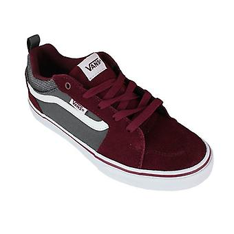 Vans Skate Shoes Vans Filmore Suede Canvas Cabernet Kids 0000160687