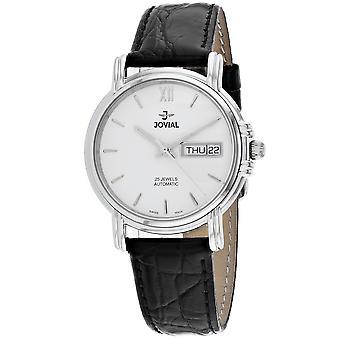 Jovial Women's Classic White Dial Watch - 11003-GSLA-01