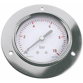 ICH Manometer 304.40.10 Connector (pressure gauge): Back side 0 up to 10 bar External thread 1/8 1 pc(s)