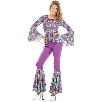Disco Diva voksen kostume, S