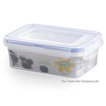 Hobby Life 400ml Rectangular Plastic Food Storage Box With Clip Lid