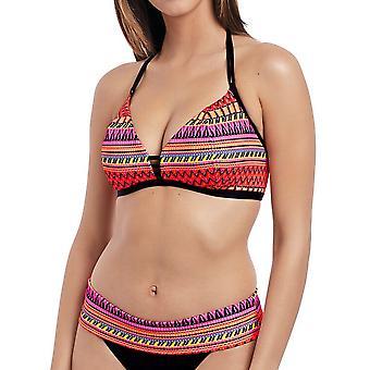 Way Out West Triangle Bikini Top