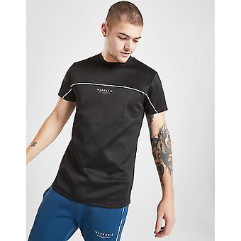 Nieuwe McKenzie mannen ' s essentiële poly korte mouw T-shirt zwart