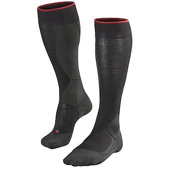 Falke Ratsastus polvi korkea sukat-musta Mix