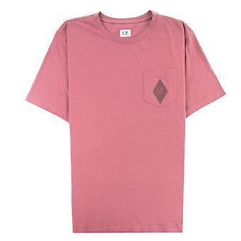 CP bedrijf Diamond Pocket T-shirt Roan Rouge 583