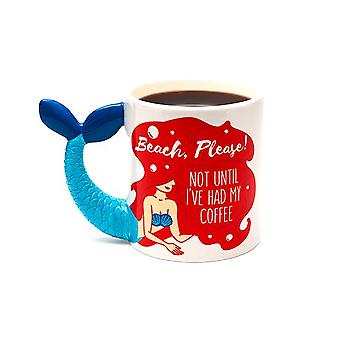 Bigmouth - the mermaid coffee mug