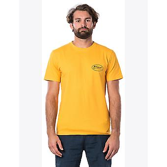 Rip Curl Aloha State Short Sleeve T-Shirt in oro