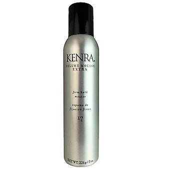 Kenra volume hair mousse extra 8 oz
