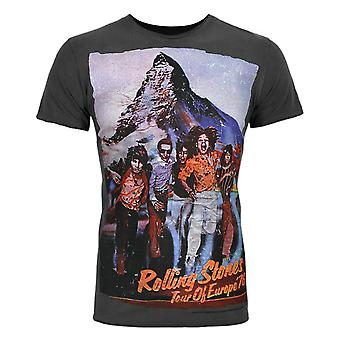 Amplified Rolling Stones Tour -apos;76 Men-apos;s Charcoal T-Shirt