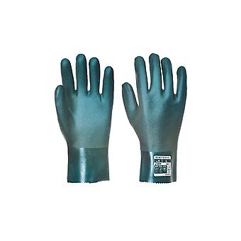 Portwest double dipped pvc gauntlet 27cm a827
