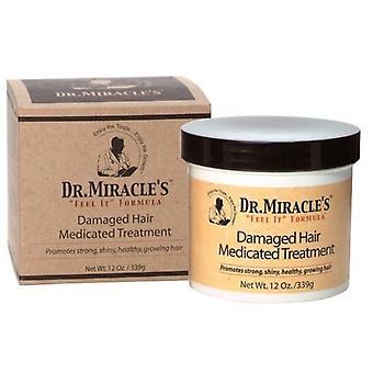 Dr Miracle cheveux abîmés médicamenteux traitement 12oz