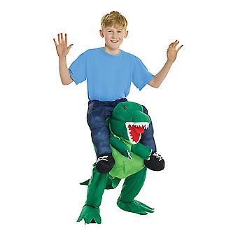 Kinderen Dino Piggyback Costum