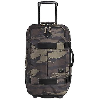 Rip Curl F-Light Transit Camo Wheeled Luggage in Khaki