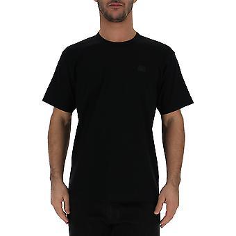 Acne Studios 25e173900 Men's Black Cotton T-shirt