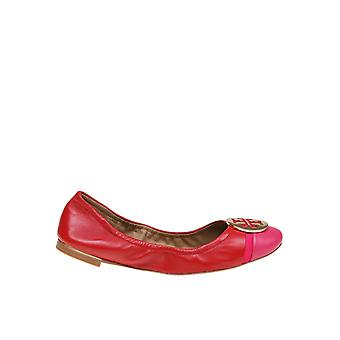 Tory Burch 63174621 Women's Red Leather Flats