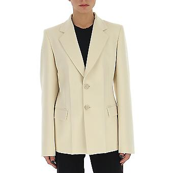 Maison Margiela S51bn0375s49226150 Women's White Cotton Blazer