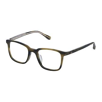 Dunhill VDH083 092I Shiny Green Havana Glasses