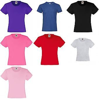 Hedelmät Loom Girls lasten valueweight Lyhythihainen T-paita (pakkaus 2)