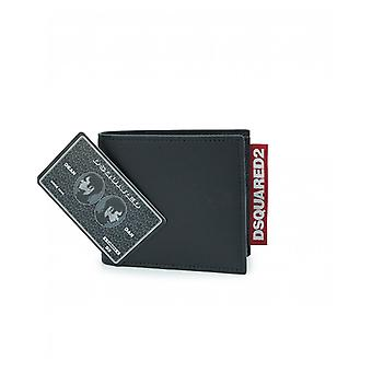 Dsquared2 Accessories Leather Dsquared2 Tab Wallet