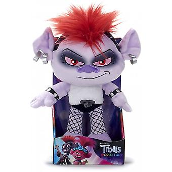 Trolls Världsturné Barb 10 Tums Plysch gosig leksak