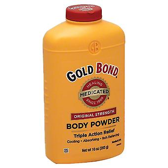 Gold bond original strength medicated body powder, 10 oz