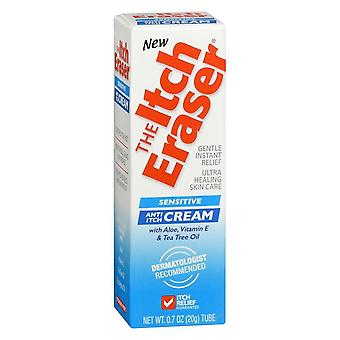 The itch eraser anti-itch cream, sensitive, 0.7 oz