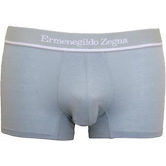 Ermenegildo Zegna Stretch Cotton Boxer Trunk, Cement Light