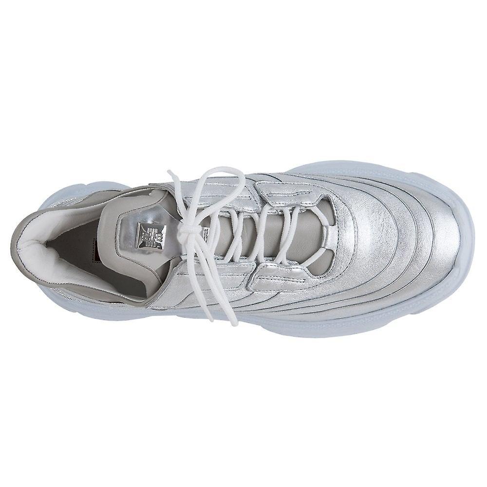 Högl 7-10 5311 Visionaire Lace Up sneakers in zilver - Gratis verzending AFMBZc