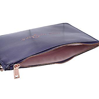 CGB Giftware WR Metallics Midnight Blue Beauty Bag