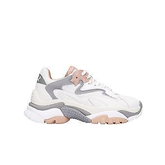 Ash Addict008 Kvinnor & apos, s vitt läder Sneakers